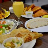 An Ethiopian Breakfast