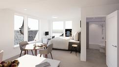 unit 601 - bed