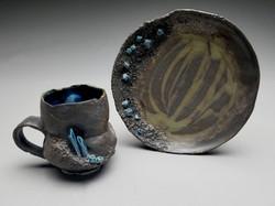 Black/Blue Crystal Set