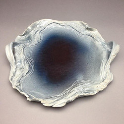 Glacial Round Platter