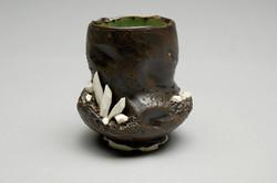 Black/White Crystal Mug