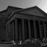Pantheon in Rome Italy