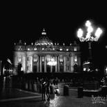 St. Peter's Basilica at Night