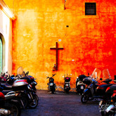 Vespas in Rome