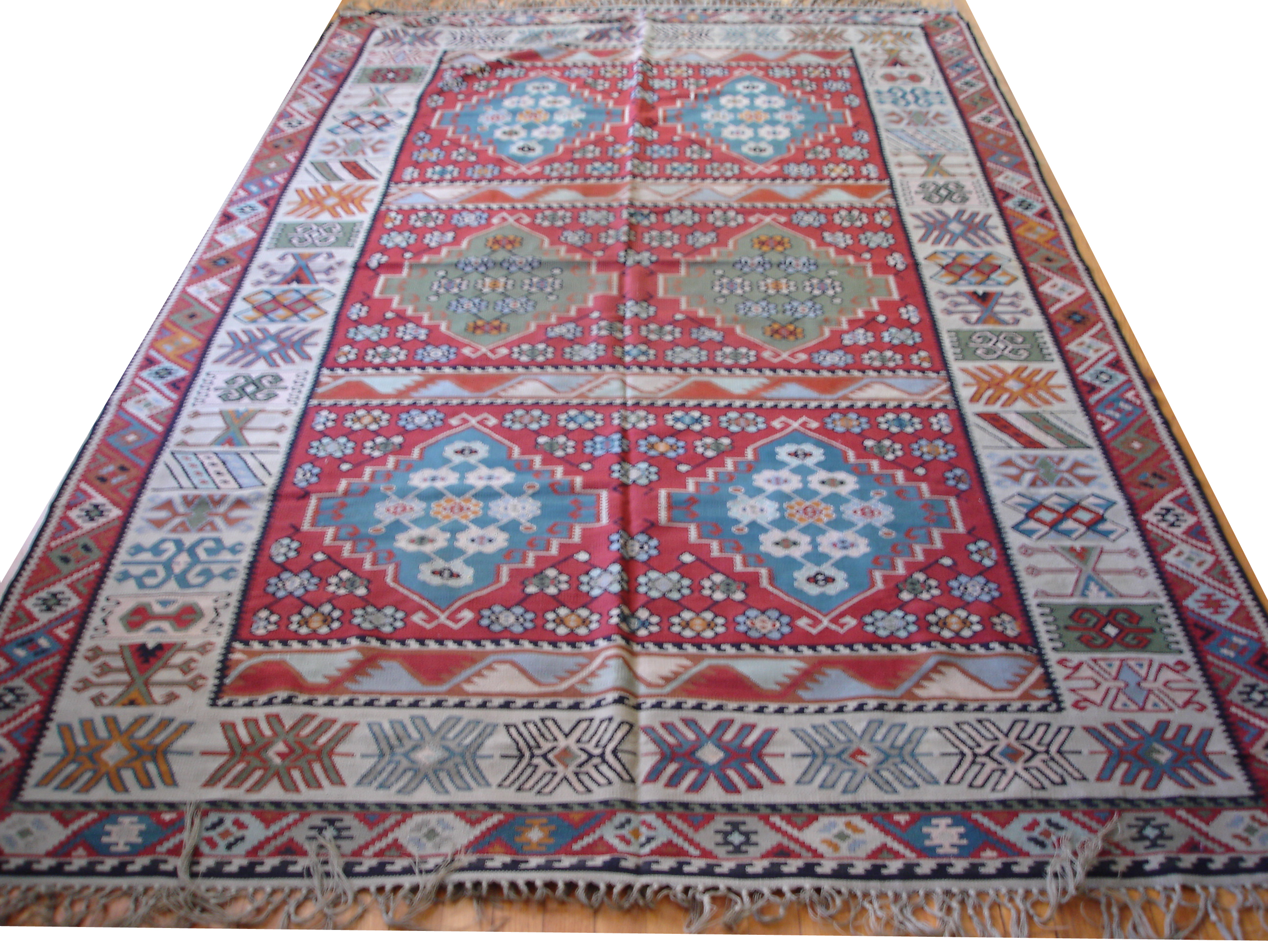 Flat Weaves - Kilims, Dhuries, Other