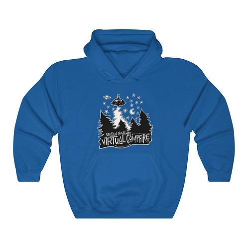 15% OFF SALE!! NEW PRICE:$38.25-Virtual Campfire-Unisex Hooded Sweatshirt