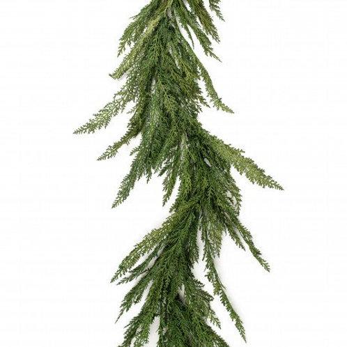 Custom Fresh Cedar Pine Garland