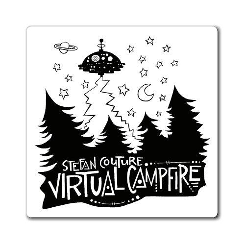 Virtual Campfire Magnet
