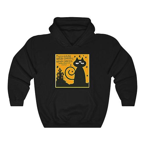 15% OFF SALE! NEW PRICE: $38.25-Halloween Jamboree Unisex Hooded Sweatshirt