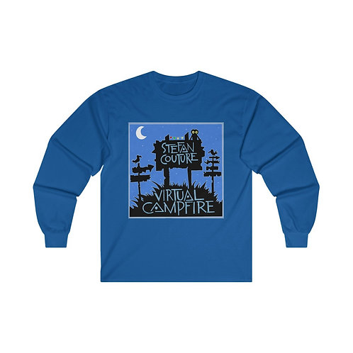 Virtual Campfire Night Owl Long Sleeve