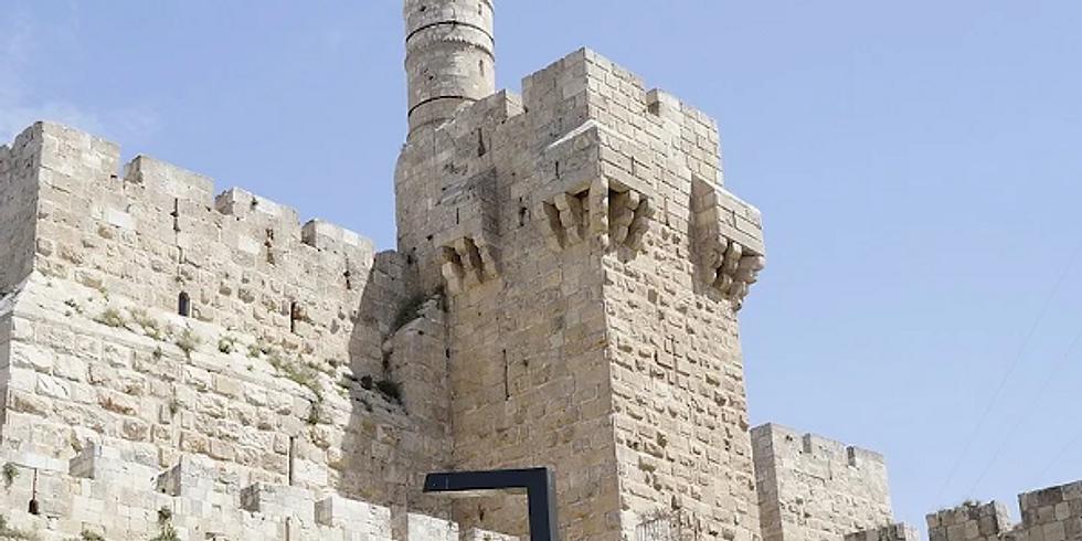 "Gita Virtuale a Gerusalemme: ""Gerusalemme terrena, Celeste, e sotteranea"""