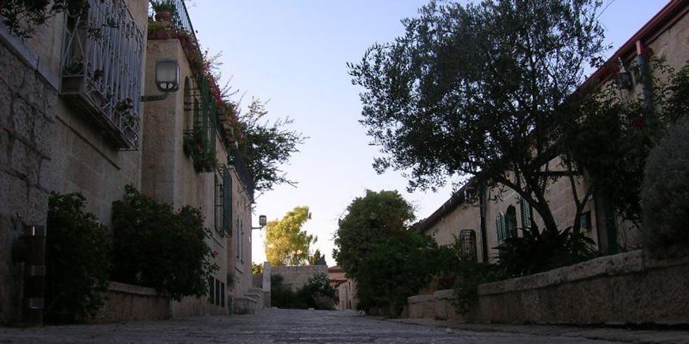 Virtual Tour - Gerusalemme fuori dalle mura: da fine XIX° secolo al Mandato Britannico