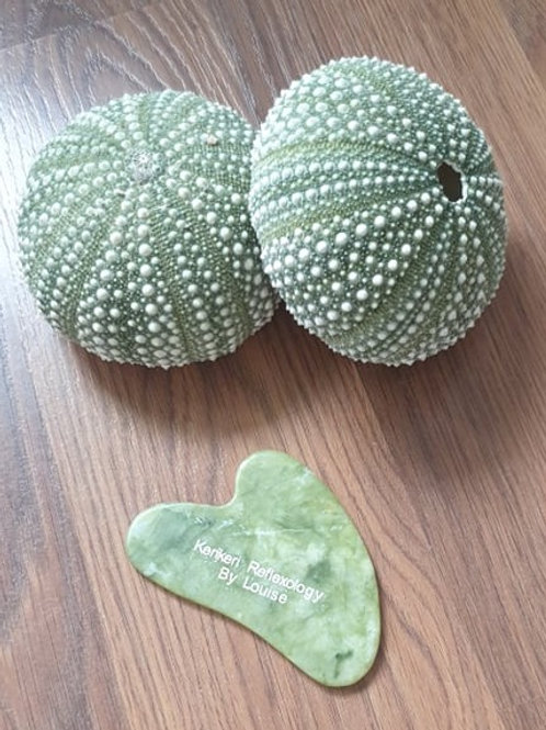 Jade Gua Sha - Heart Shape