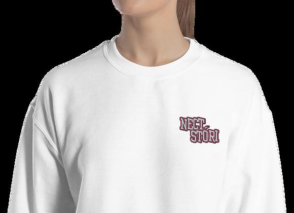 Team Nect Stori Embroidered Sweatshirt