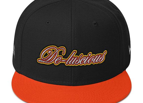 Team De-luscious Snapback Hat