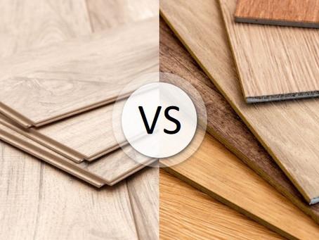 Laminate vs Vinyl Plank Flooring
