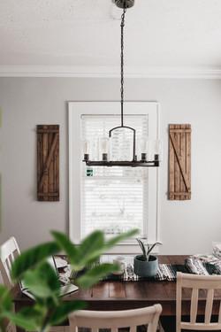 Rustic Dinning Room