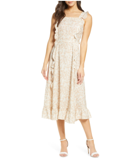 sancia floral dress