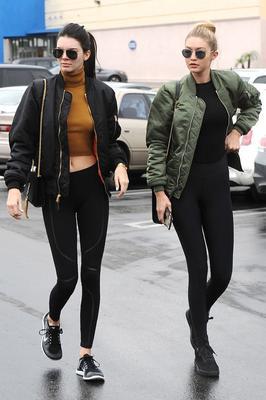Kendall Jenner and Gigi Hadid Athleisure