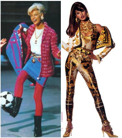 1980's Legging Fashion