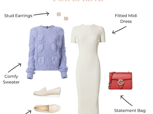 Layering Your Spring Dresses | Get The Look