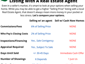 Listing Your Home For Sale vs Selling With Cash Now Homes