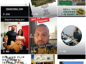 Trending With Cash Now Homes on TikTok