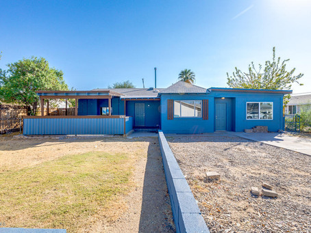 SOLD: TRI-PLEX 2615 W AUGUSTA Avenue Phoenix, AZ 85051