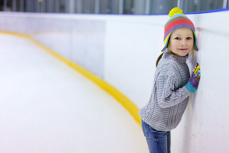 Adorable little girl wearing jeans, warm