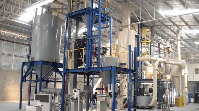 plantas de procesamiento de Café