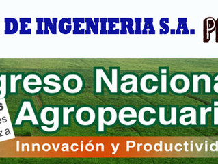 Visítanos en Tercer Congreso Nacional Agropecuario deUPANIC