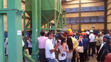 Inauguración de nueva planta de procesamiento de Frijol. CECOOPSEMEIN