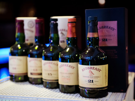 January 2019 - Redbreast Whiskey Tasting