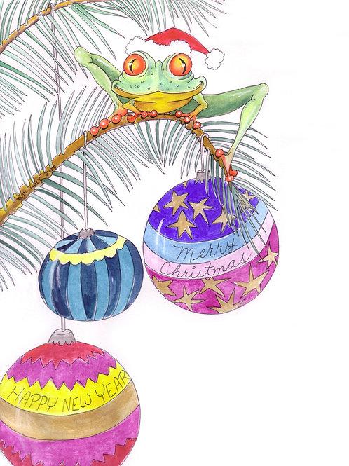 Froggy in a tree