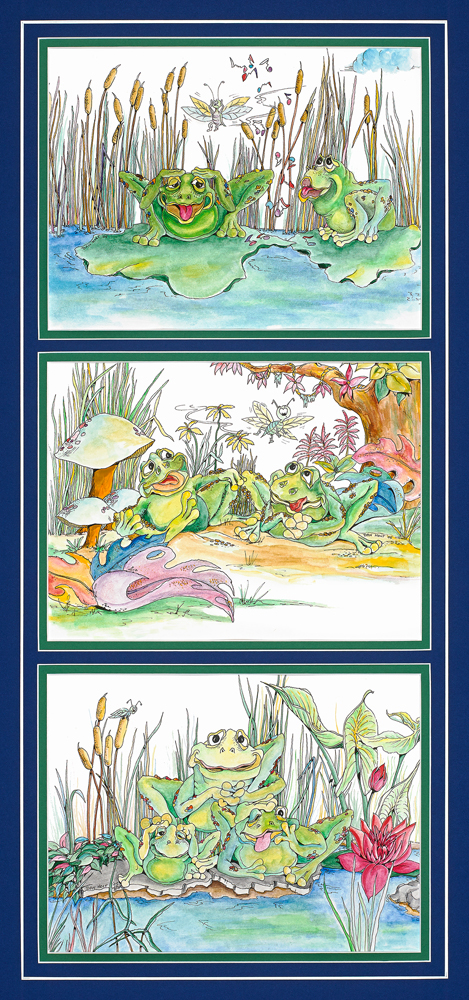 Frogs Set 2