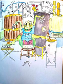 Hoppy, Brew Master