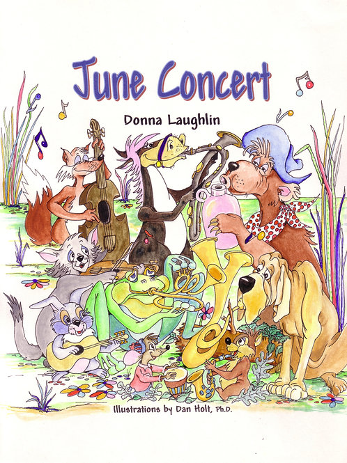June Concert booklet