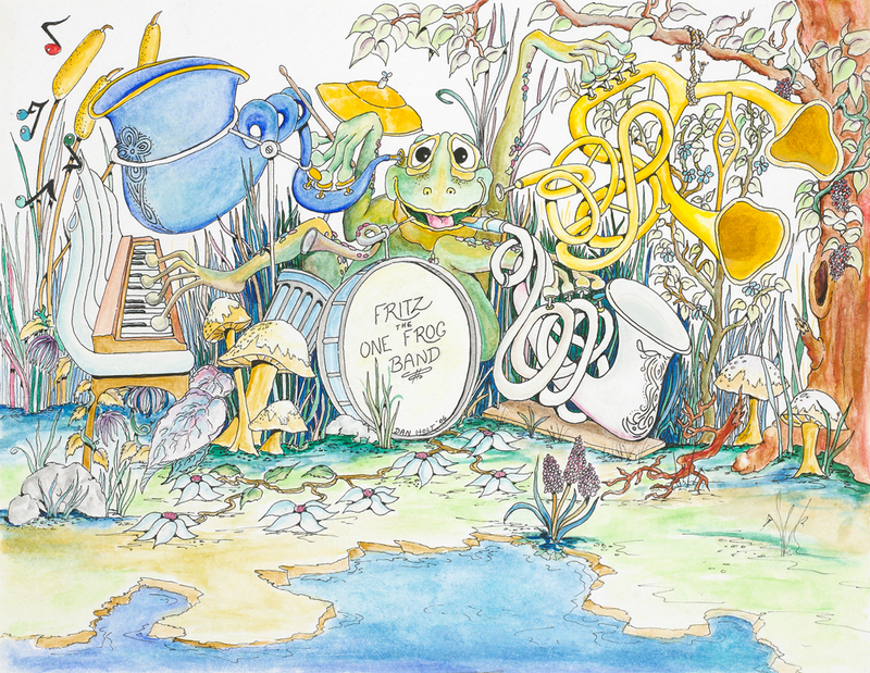 Fritz the one Frog Band