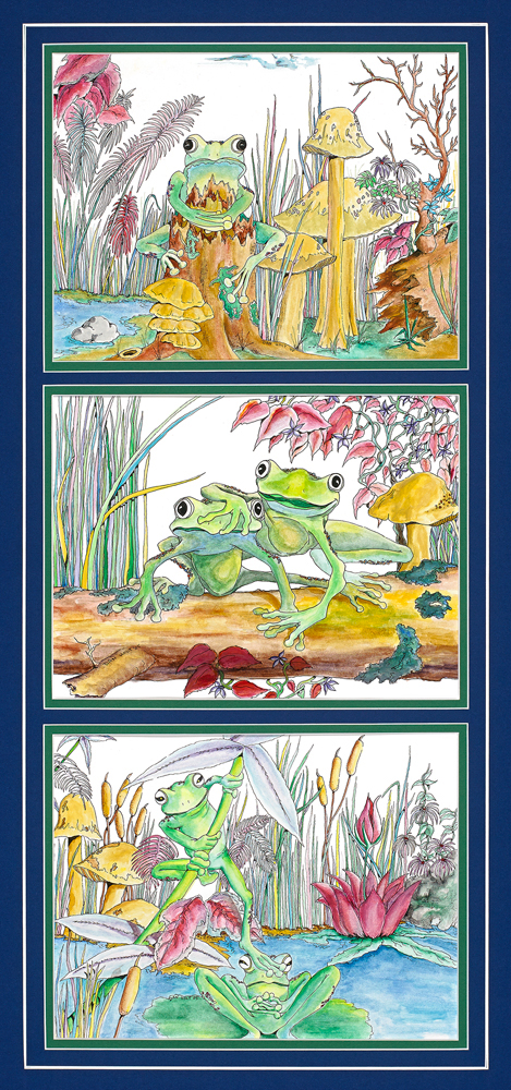 Frogs Set 1
