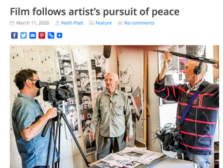 Can Art Stop a Bullet. Bayside News Article