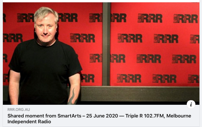 Radio Interview 3RRR