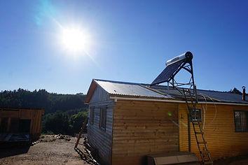 Energía solar térmica Contulmo