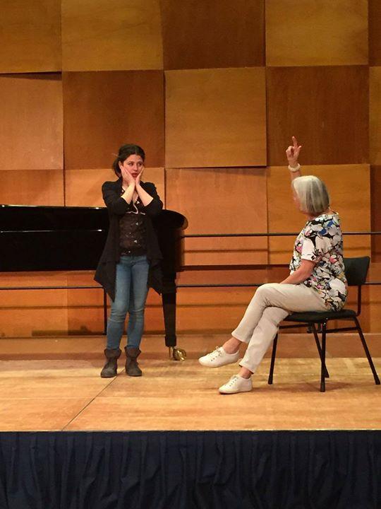 Francesca Pusceddu and Margreet Honig