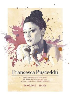 Francesca Pusceddu by Augusto Murgia