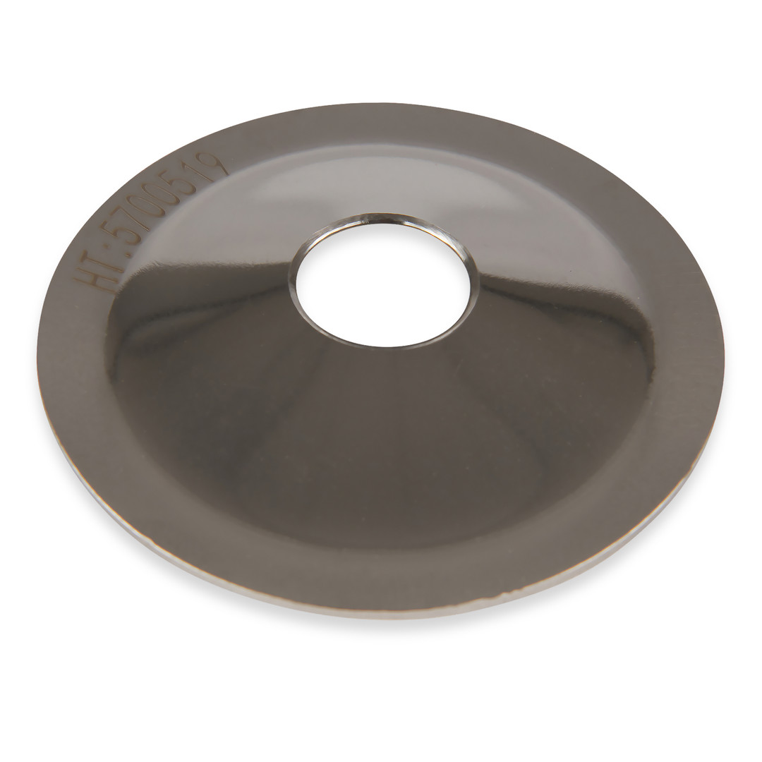 316L Verical Orifice Plate with 10 mm hole
