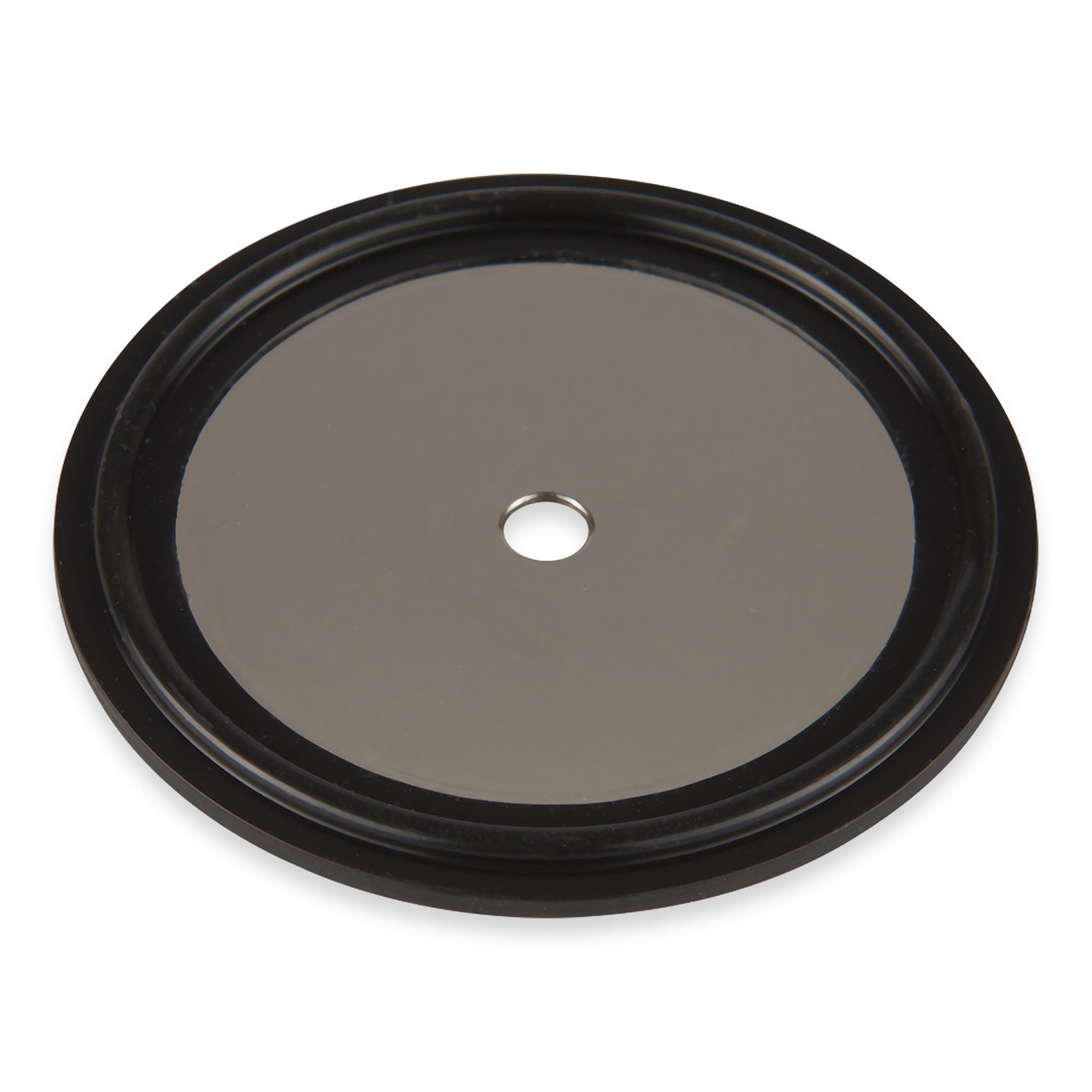 """1.5"""" FKM Orifice Plate with 5 mm centric hole"""
