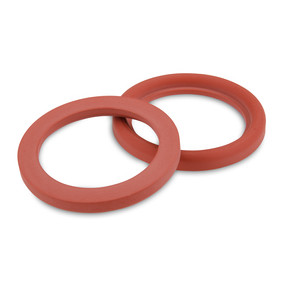 DIN11851 Red Silicone Type-B with lip