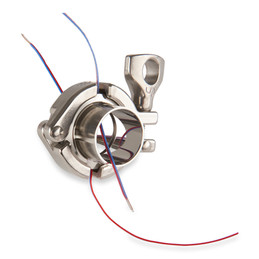 Assembly with two thermocouples