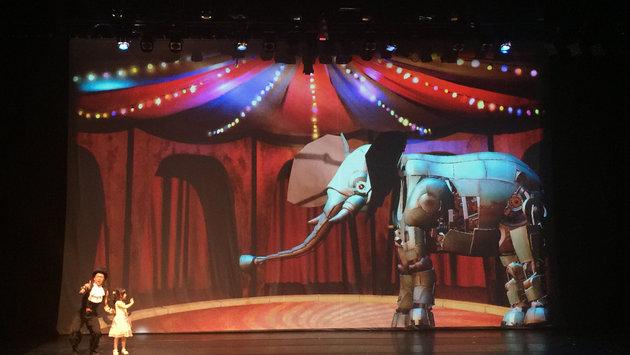 The Future Circus未來馬戲團 - 動畫與互動科技兒童劇場