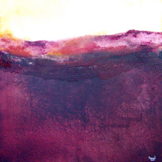 The soft silence of autumn . 120x120 cm